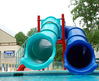 Water Slides Royalty Free Stock Photos
