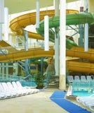 Water slides. Stock Photo