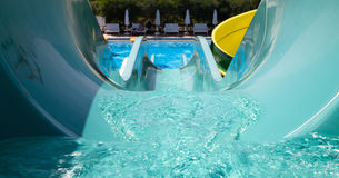 Water slides Royalty Free Stock Photography