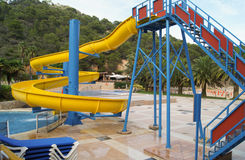 Water slides Stock Photography