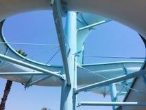 Water slides Stock Image