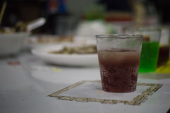 Water and soft drinks Royalty Free Stock Photo