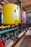 Water softening plant #4 Royalty Free Stock Images