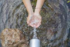 Water. Royalty Free Stock Photography