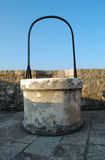 Water source. An old water source at castle in town Knin, Croatia Royalty Free Stock Image