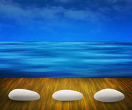 Water Spa Background Stock Photos