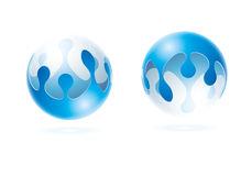Water sphere Royalty Free Stock Photo
