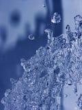 Water splash. Macro shot of water splash royalty free stock photography