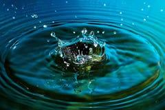 Water splash abstraction Stock Photos