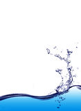 Water splash background Stock Photography