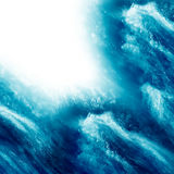 Water splash background Stock Images