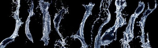 Water splash. Royalty Free Stock Photos