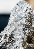 Water Splash Effect V Stock Images