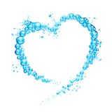 Water Splash Heart Royalty Free Stock Photo