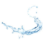 Water splash isolated Stock Images