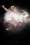 Water splash motion Stock Image