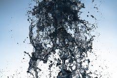 Water splash move nature light abstract close up. Macro royalty free stock photos