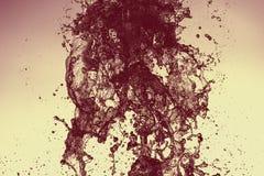 Water splash move nature light abstract close up. Macro royalty free stock photo