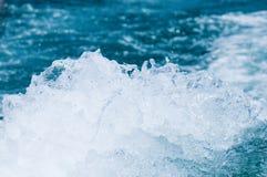 Water splash on the sea Stock Photo