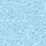 Water splash seamless waves abstract pattern Royalty Free Stock Photos