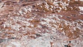 Water splash stock video