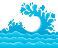 Water splash theme image 6 Stock Photography