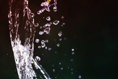 Water splash vintage background Royalty Free Stock Images