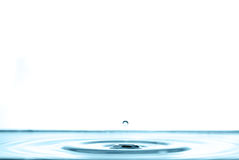 Water splash and water bubbles Royalty Free Stock Photos