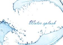 Water splash wave bubbles royalty free stock photos