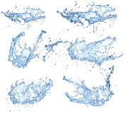 Water splashes Royalty Free Stock Photos