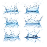 Water splashes Royalty Free Stock Images