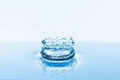 Water splashes background Stock Photos