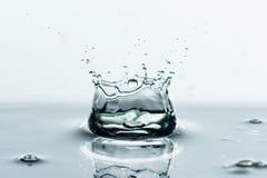 Water splashes background Royalty Free Stock Photo