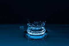 Water splashes background Stock Photography
