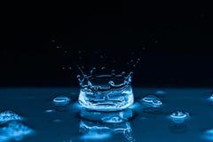 Water splashes background Royalty Free Stock Image