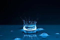Water splashes background Royalty Free Stock Images