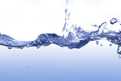 Water splashes Stock Images