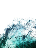 Water splashes collection Stock Images