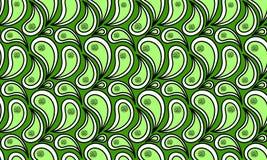 Seamless Green Water Splash Royalty Free Stock Images