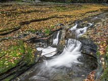 October Splash - Watkins Glen, New York Stock Photos
