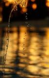 Water splashes Stock Image