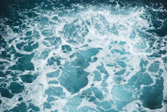 Water splashes view from above Stock Photography