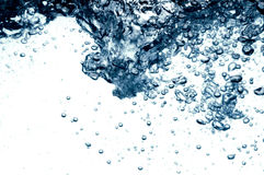 Water splashing Stock Image