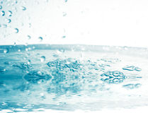 Water with splashing Royalty Free Stock Photography