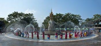 Water-splashing Festival Royalty Free Stock Images