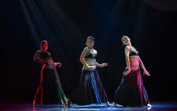 Water-splashing Festival-The national folk dance Royalty Free Stock Images