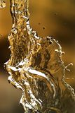 Water splashing in inversion as an abstract background.  stock photos