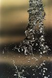 Water splashing in inversion as an abstract background.  royalty free stock photos