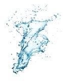Water splashing Royalty Free Stock Photography