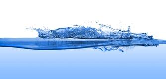 Water splashing. Isolated on white background stock photography